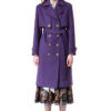 ARIA wool coat with pockets by DIANA ARNO.