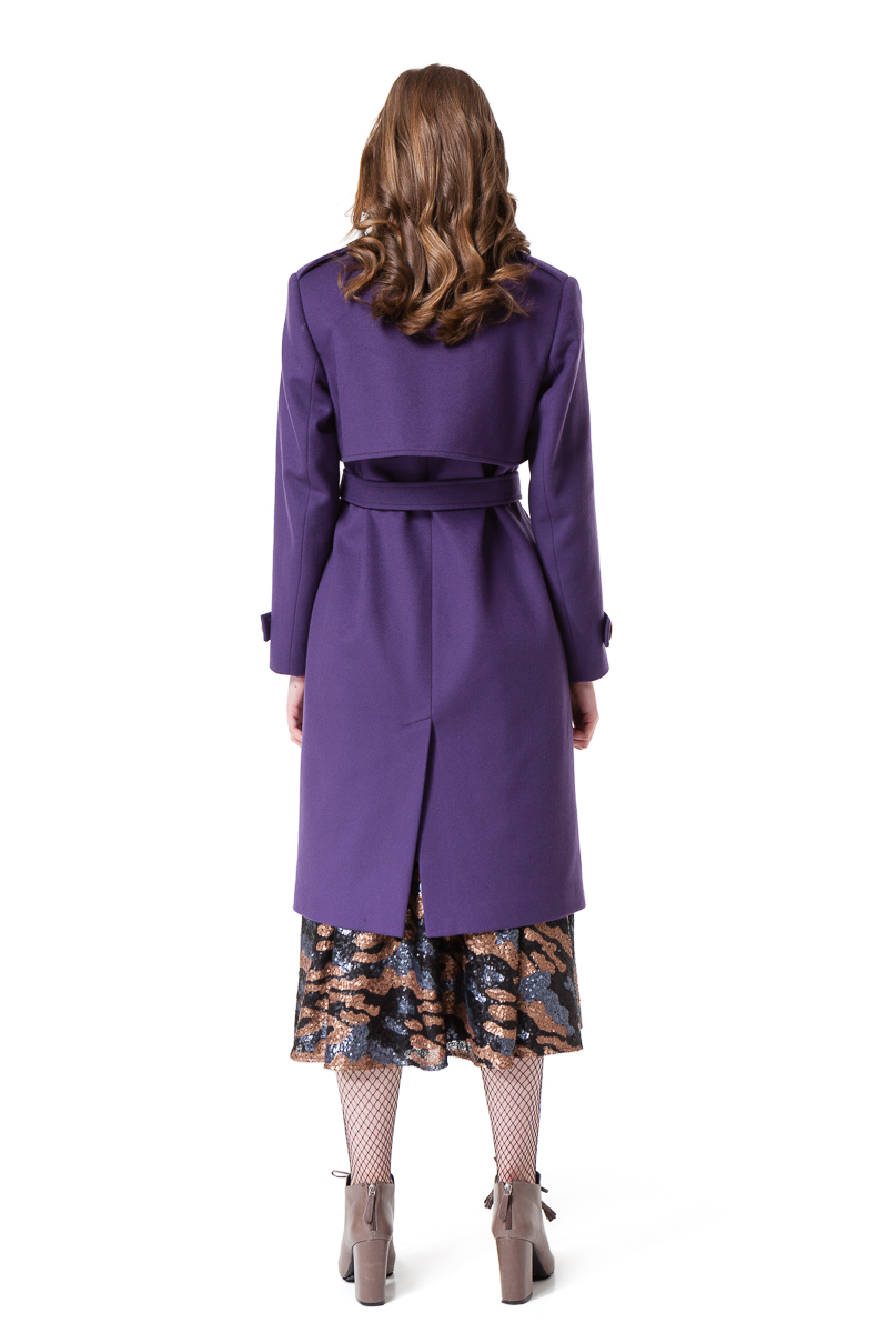 ARIA wool coatwith pockets by DIANA ARNO.