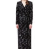 EMILIA velvet maxi dress with long sleeves by DIANA ARNO.