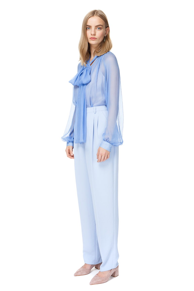 BRIA tailored trousers in heavenly blue