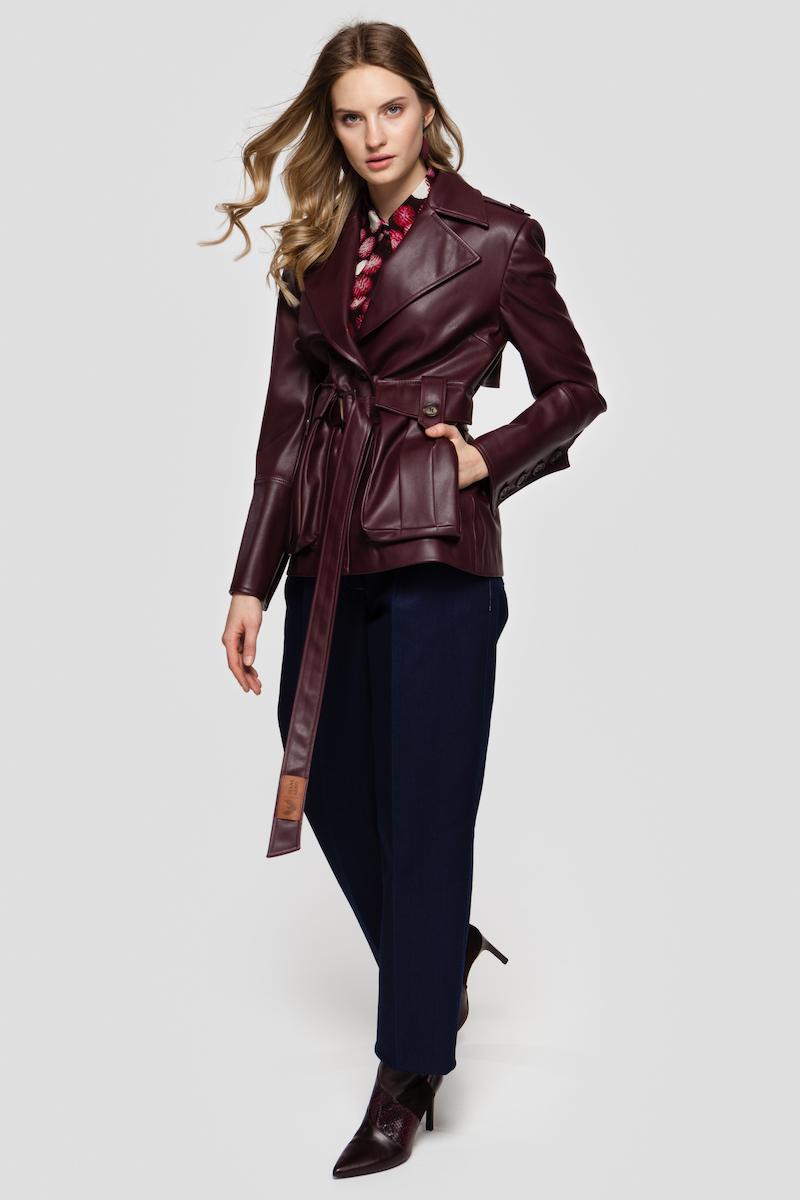 HAYDEN faux leather jacket