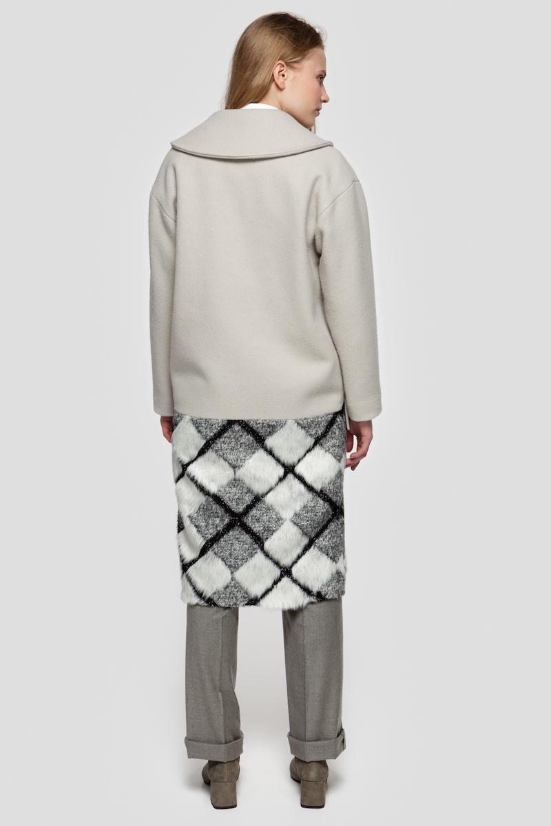 ZOE single-breasted wool coat