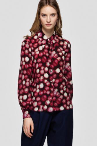 ELISA silk blouse