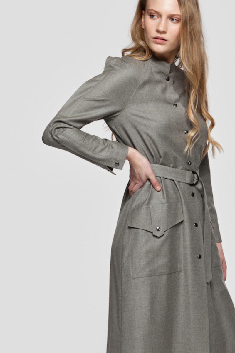 SOPHIA wool dress