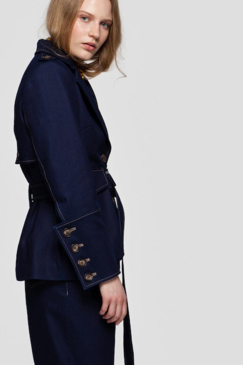 HAYDEN denim jacket with utility pockets