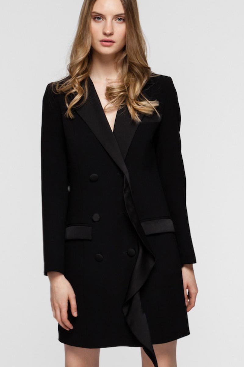 ANEKA mini blazer dress