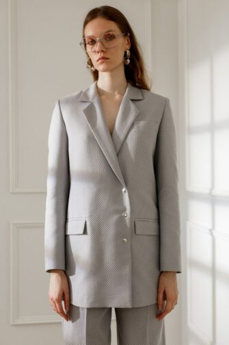 BLAKE SUIT IN SMOKE GREY