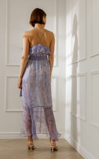 MARLENE SILK SLIP DRESS