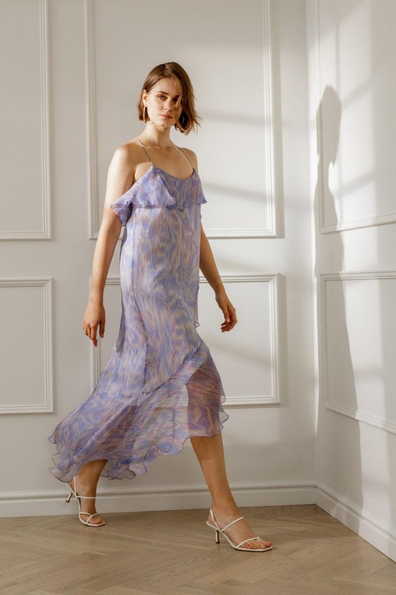 MARLENE SILK SLIP DRESS
