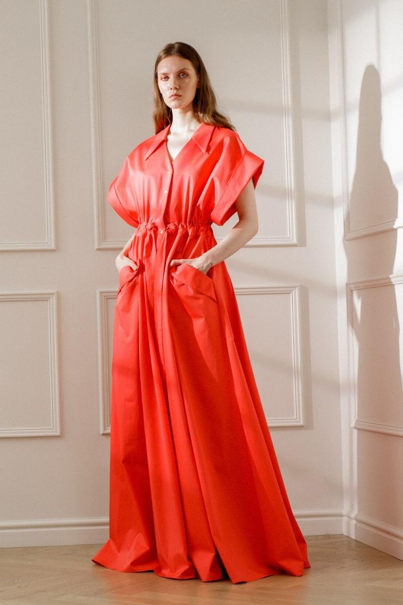 CLARISSA MAXI SHIRT DRESS