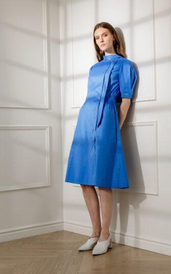 ESMEE DAY DRESS IN ROYAL BLUE