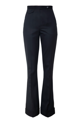 LISA FLARED TROUSERS IN MOONLESS NIGHT