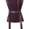KARLEY WOOL-MIX VEST WITH BARE SIDES