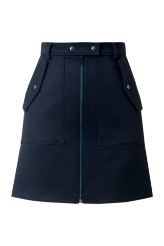 KOURTNEY MINI SKIRT IN NAVY