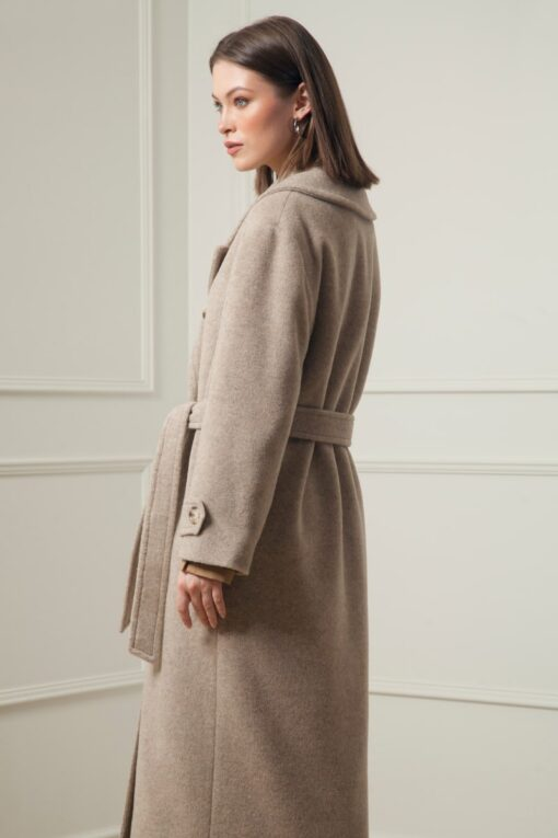 JEMMA ALPACA WOOL COAT IN TOFU