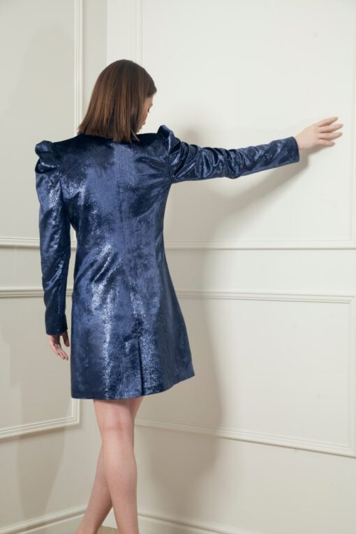 MIA VELVET BLAZER DRESS