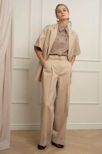 BERTHA OVERSIZED COTTON SUIT