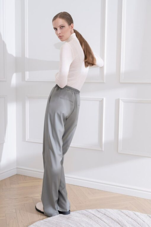 DIANA ARNO LAURA DRAWSTRING TROUSERS IN WOOL